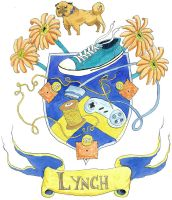 Lynch Family Crest by sullytheraptor
