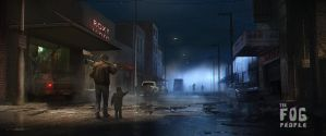 The Fog People - 1984 by stayinwonderland