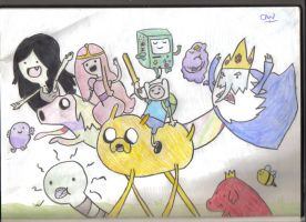 Adventure Time Full Cast by OliviaWhyteART