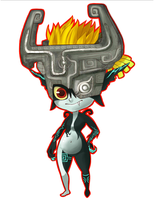 Midna Keychain by RoughReaill