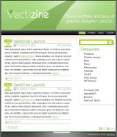 VectiZine WP Theme by lakoubi