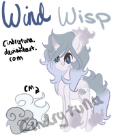 MLP - Adoptable Wind Wisp [Auction - CLOSED] by CindryTuna