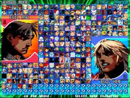 Mugen character list C: by Lare-yoshi
