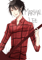 Adventure Time+Marshal Lee+ by DevilPink