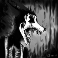 Boris the Wolf by bite-art-87