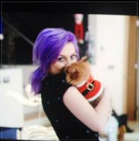Perrie and Hatchi! by LittleMixFans