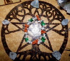 Magical/Healing/Protection Bracelet - Old Gods by Wilhelmine