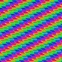 Layered Rainbow Pattern by Humble-Novice