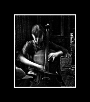 The Cellist by Trippy4U