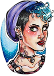 Punk Girl by Chrisily