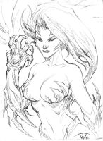 Sketch of the day: Witchblade by pant
