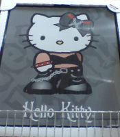 gothical Hello Kitty by WhippetWild