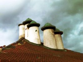 Roofs and Chimneys by FiorellaDePietro