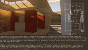 20120121 Hypothetical House Interior by ChimeraPathogen