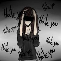 Hate you.. by MidoriKuro-chan10