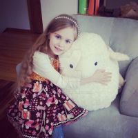 Miss Trinity and Cookie the Sheep by Ayjah