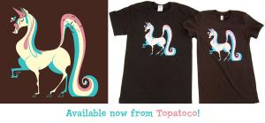 Ice Cream Unicorn Shirts by Pocketowl