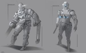 Riot Police Concept by yinteck