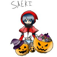 Saeki Happy Halloween by A-Creative-Person