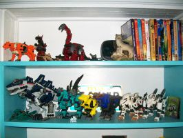 Zoids Collection update by Bloodthirstwolf