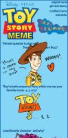 Toy Story Meme by Phinnimonster