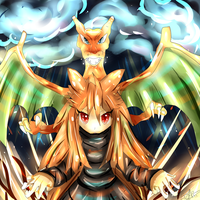 Wanna battle my Charizard? by LizardonEievui13