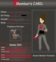 Team Rocket ID Card by Mysterious-Harmony