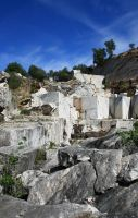 Marble quarry by sacadura