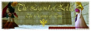 Zelda: Ocarina of Time Banner by Sheikahchica