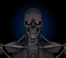 Terminator T-600 by YulayDevlet