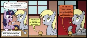 Derpy Makes A Friend by DizzyPacce