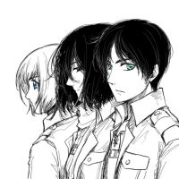 The Trio by hime1999