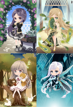 (CLOSED) Free Selfy Adopts! [Batch 7] by AndIShatter