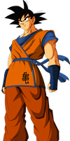 Goku (Saiyan Saga) MLL Redesign by MAD-54