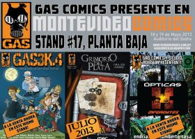 Publicaciones GAS Comics 2013 by lordmagnusen