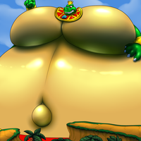 Gigantic King K.Rool by RickyDemont