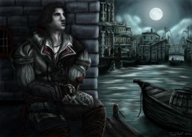 Young Ezio by AnsticeWolf