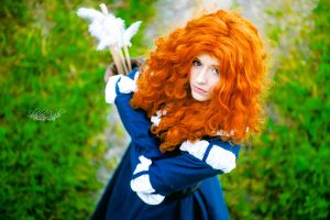 Merida - Brave - Rebelle - Disney - Pixar by ShashinKaihi