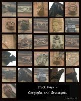 Stock Pack - Gargoyles and Grotesques by rockgem