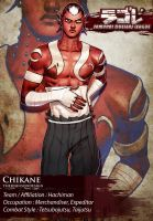 SDL: Chikane The Sword Breaker by TheJohnsonDesign