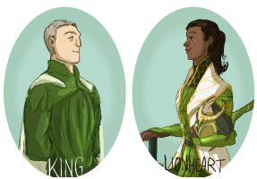 You're my king and I'm your lionheart by kemiobsesses