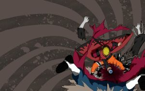 Naruto crushes Asura Wallpaper by BufferOverflow