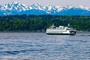 Kingston to Edmonds by snak