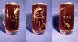 MLP - 'Tea with Luna' (ENGRAVE sld) by Ksander-Zen