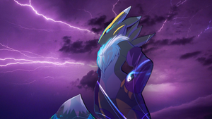 Renamon - Storm wallpaper by DorciMetal