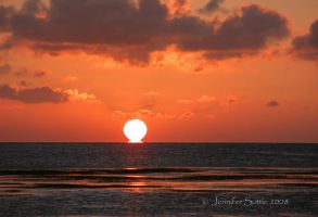 Sunset at the bay 4 by jayshree