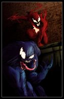 Venom and Carnage by egorger