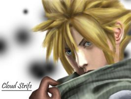 Cloud Strife by anjelleshadow