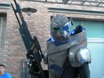 Some dude as Garrus SDCC by FieryHeaven