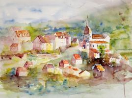 Village franc comtois by vogesen